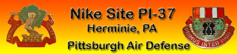 Nike Site PI-37. Herminie, Pennsylvania. Pittsburgh Air Defense